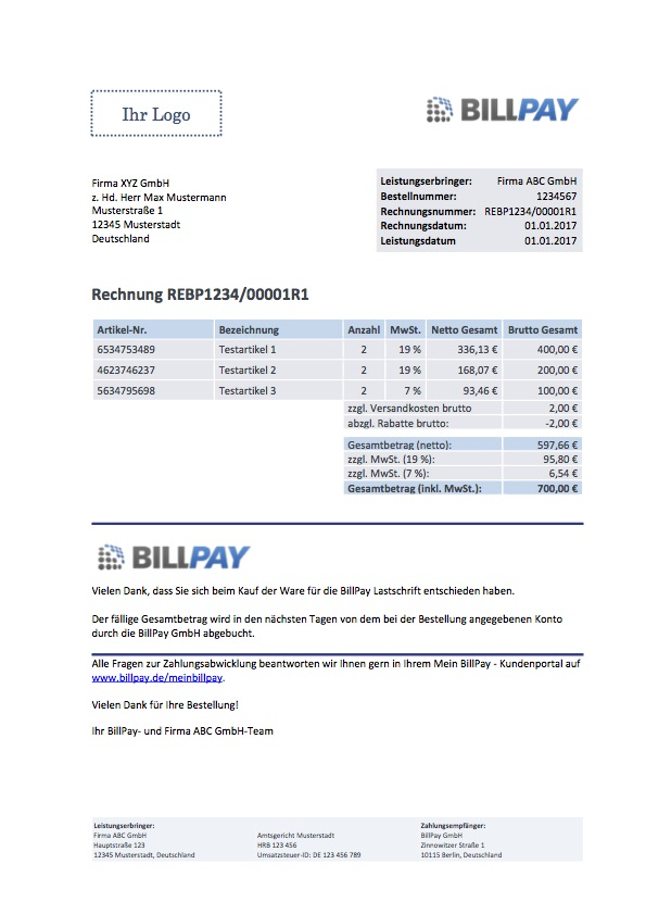 BillPay TechDocs